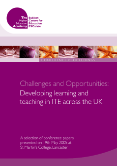 Cover of Challenges and Opportunities: Developing learning and teaching in ITE across the UK