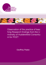 Cover of Observation of the practice of teaching