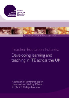 Cover of Teacher Education Futures: Developing learning and teaching in ITE across the UK