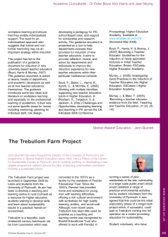 Cover of The Trebullom Farm Project