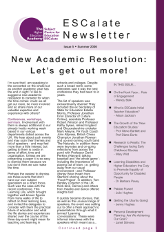 Cover of Newsletter Issue 5 - Summer 2006