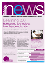 Cover of Newsletter No 10 - Spring 2008