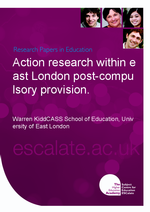 Cover of Action research within east London post-compulsory provision