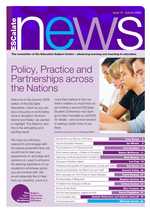 Cover of Newsletter Issue 15 - Autumn 2009