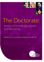 Cover of The Doctorate: stories of knowledge, power and becoming