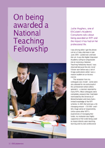 Cover of On being awarded a National Teaching Felowship