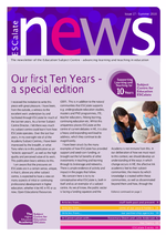 Cover of Editorial Summer Newsletter June 2010