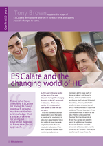 Cover of ESCalate and the changing world of HE