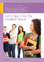 Cover of Let's hear it for the Student Voice!