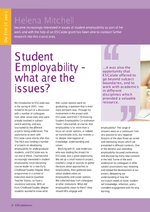 Cover of Student Employability - what are the issues?