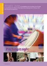 Cover of Pitching it right