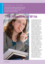 Cover of The Freedom to write