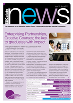 Cover of Enterprising Partnerships, Creative Courses; the key to graduates with impact