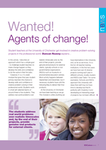 Cover of Wanted! Agents of Change