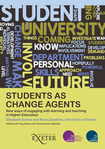 Cover of Students as change agents, new ways of engagaing with learning and tecahing in Higher Education