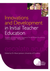 Innovations and Development in Initial Teacher Education
