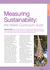 Measuring Sustainability: the Welsh Curriculum Audit